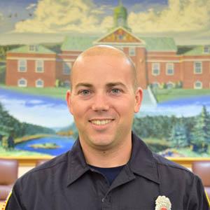 Jake Underhill - Firefighter