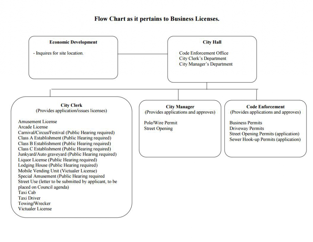 business-license-flow-chart