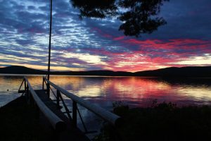 1st Place - Matt Flanagan - Sunset on Branch Lake